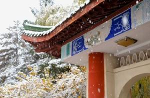 #兰州下雪#喜提热搜,飘飘扬扬的雪花,给兰州带来浪漫的气息