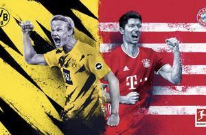 德国国家德比多特火并拜仁,21场狂轰18球的莱万完爆哈兰德