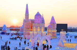 第22届哈尔滨冰雪大世界开园迎客