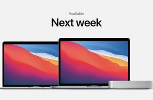 英特尔AMD都得让道,Apple M1芯片携三款电脑强势登场