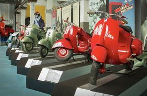 比亚乔的博物馆里,究竟收藏了多少款VESPA?