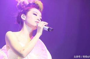 张靓颖演唱会上哽咽透露心声,让人心疼!