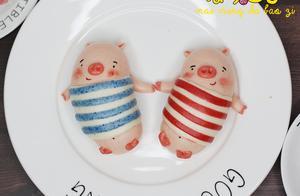 网红扭扭猪芋泥包子造型馒头做法一出,有人留言你家还缺娃吗
