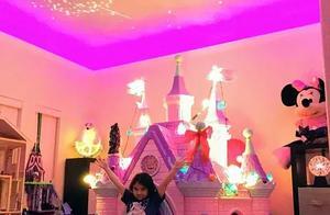 老爸把7岁女儿房间爆改成迪士尼城堡,别人的老爸从没让我失望过