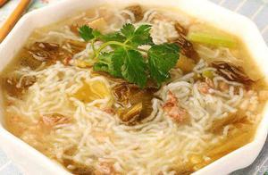 1碗酸汤,1把米线,教你做一道酸辣米粉,家里人都爱吃