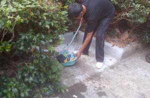 捡拾垃圾、清扫楼道…… 他入住才一年多却天天为小区在忙碌