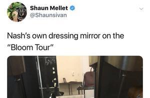 戳爷爸爸:戳爷的狗狗在巡演中都有化妆镜了 傻脸推荐了一张专辑