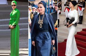 卡塔尔王妃拥有世界上的奢华的衣橱
