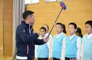 全民体育方兴未艾 高尔夫走入小学校园