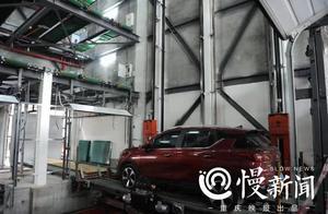 """车子最高停19楼,重庆全市首座""""智能立体停车楼""""进入调试阶段"""
