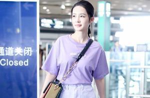 """李沁、孟美岐、倪妮都穿上了香芋紫搭配,也太""""火""""了吧?好软萌"""