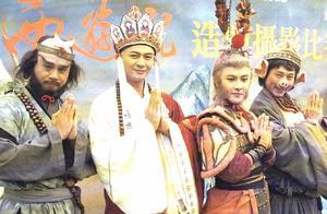 《西游记》剧组重聚,张卫健变化小麦长青发福,黎耀祥成三届视帝