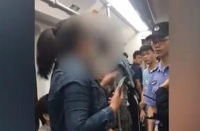 女子在广州地铁乱扔瓜子壳,还与劝阻她的乘客发生口角