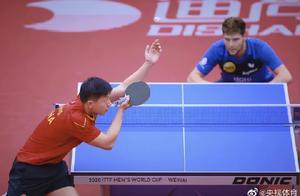 马龙、樊振东晋级世界杯四强