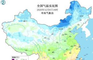 广东雾凇奇景美如画,南方气温普遍走低,分析:冷空气制造降温
