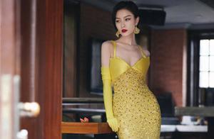 女明星爱上黄色礼服?微博之夜来欣赏女明星的美貌