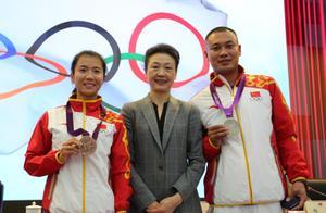迟到8年的荣誉!刘虹司天峰递补领取伦敦奥运会铜牌、银牌