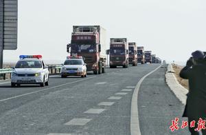 最后一批1800只蒙古国捐赠羊入境!30000只羊齐啦