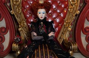 毛晓彤突破形象cos红皇后 甜美小可爱变身无敌大反派