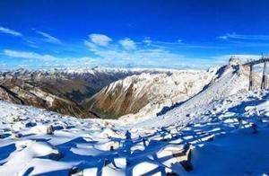 下雪了,来看现实版的冰雪奇缘,在达古冰川