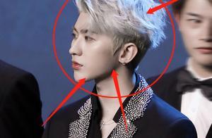 蔡徐坤银发半永久了?生图表情复制粘贴,唯独不敢看他的眼睛
