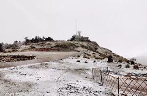 神农架迎来今年首场秋雪!比2018年晚21天