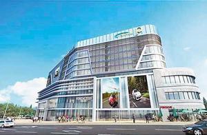 重庆开建最大智能立体停车楼 存取车只需2分钟