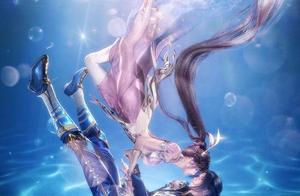 斗罗大陆:P图大神手下的小舞竟是条美人鱼,三舞情人节太甜了