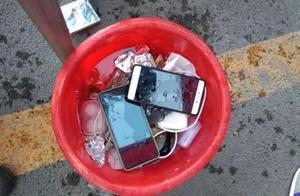 """山西范亭中学回应""""手机泡水桶"""":为防沉湎手机,已事先签过协议"""