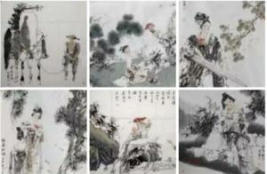 青海美协主席被指抄袭他人多幅作品,一幅画卖数千元 青海文联:正了解具体情况
