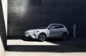 上汽R汽车推出全球首款5G汽车,售价21.98万起