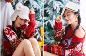 原子飞圣诞大片出炉温暖复古,节日穿搭玩转复古时尚