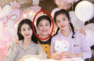 赵丽颖为李冰冰庆48岁生日,照片曝光,然而惊艳网友的另有其人