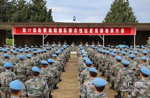 辞旧迎新!中国蓝盔备战练兵忙