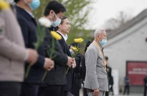 清明寄哀思!93岁八路军老战士,向牺牲战友深情表白