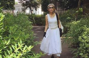 日本博主分享妈妈20年前的穿搭,一身时尚,穿出精致,走红了ins