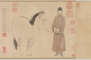 赵孟頫、赵雍、赵麟《赵氏三世人马图》(纽约大都会博物馆 藏)