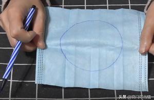 一次性口罩上画3个圆,简单改造下就能变废为宝,全家人都抢着用