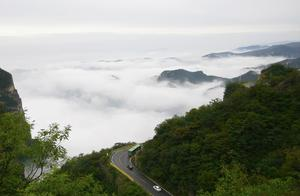 看看焦作云台山的云,就知道这一座山为什么叫云台山