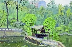 写生也可以画的如此诗意 | 川美教授翁凯旋油画风景作品欣赏