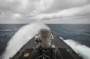美舰今早再穿台湾海峡,国防部回应