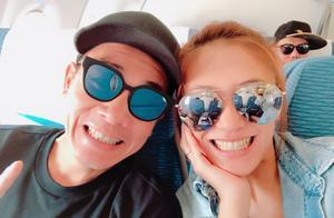 陈小春制作海报庆与应采儿结婚十周年,撇下两儿过二人世界超甜蜜