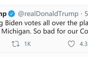 决战内华达!拜登或成美国史上票数最多候选人!特朗普继续发推暗示拜登作弊:这对我们的国家太糟糕了
