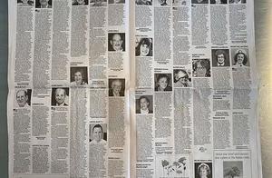 美国波士顿大报周末版有16页登满讣告,网友:纽约的更不敢看了