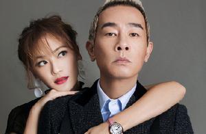 陈小春庆祝结婚十周年,应采儿穿旗袍身材火辣,相差16幸福至今