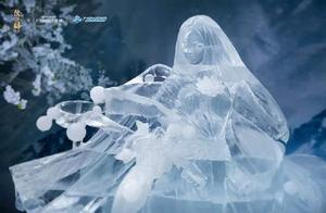 阴阳师:新年第一个SP式神蝉冰雪女出道,实体冰雕还原建模设计