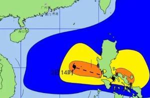 """台风""""天鹅""""明日进入南海 南海中东部将出现巨浪到狂浪区"""