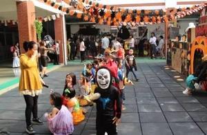 国学幼儿园办万圣节活动遭全体家长抵制:过什么洋节