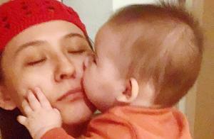 热依扎官宣产女,母乳喂养已半年,出月子后就带孩子进组拍戏