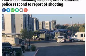 美国内华达州枪击事件致4死 网民:内战要开始了?